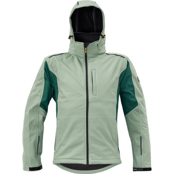 Dayboro szürkés zöld softshell dzseki
