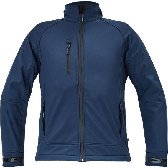 Chitra tengerészkék softshell dzseki