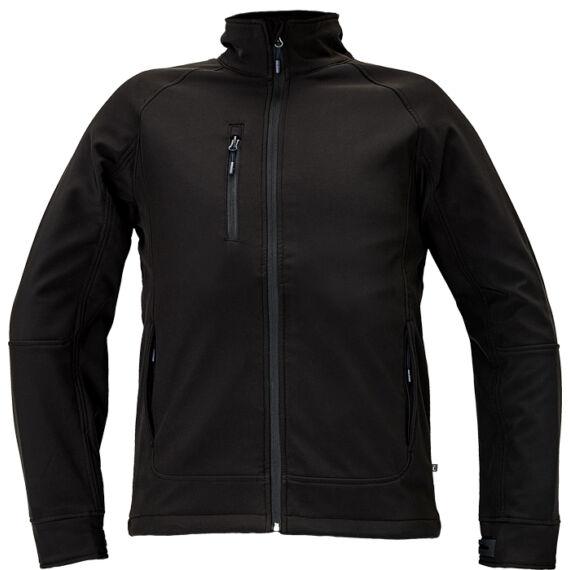 Chitra fekete softshell dzseki