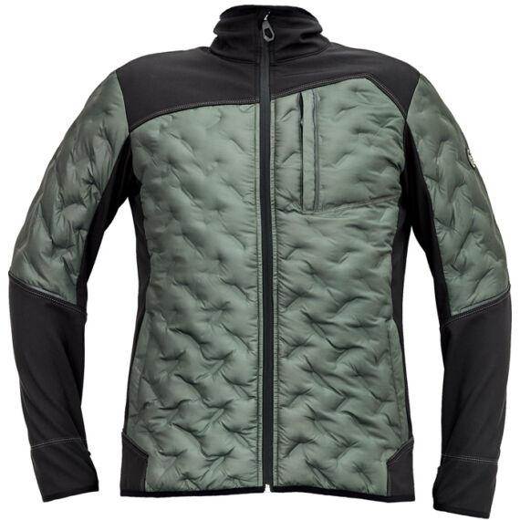 Neurum sötét olajzöld softshell kabát