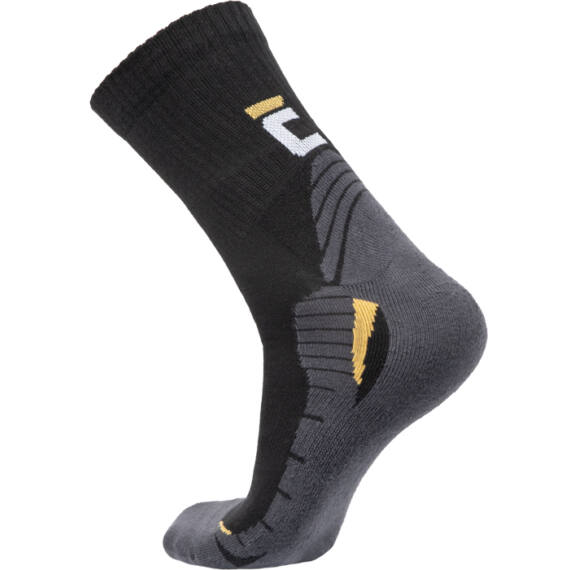 Kaus fekete/szürke zokni