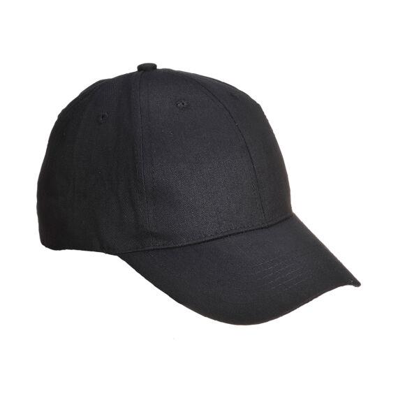 Baseball sapka, hat paneles Black