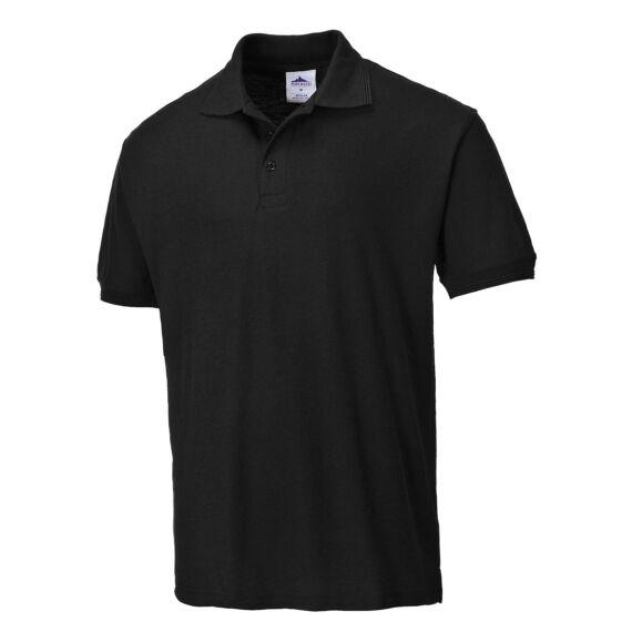 Verona pamut pólóing Black