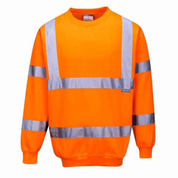 Jól láthatósági pulóver Orange