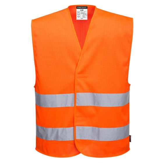 MeshAir Hi-Vis kéttónusú mellény Orange