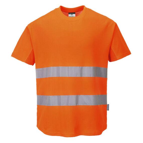 Hálós póló Orange