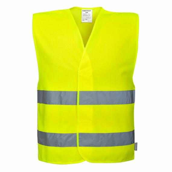 VISITOR láthatósági mellény Yellow