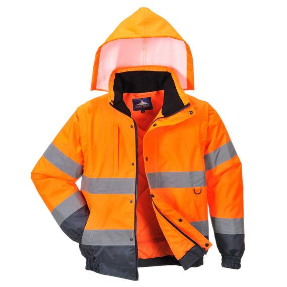 HiVis 2 az 1-ben kabát Orange