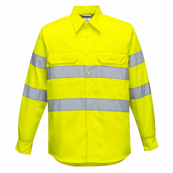 Jól láthatósági ing Yellow