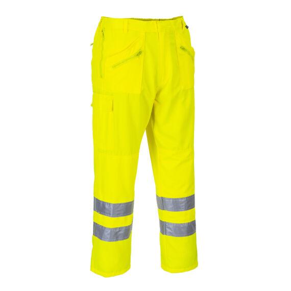 Hi-Vis Action nadrág Yellow