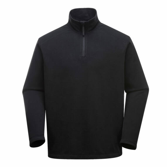 Staffa mikropolár pulóver Black