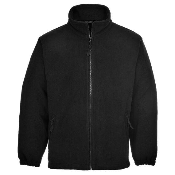 Aran polár pulóver Black