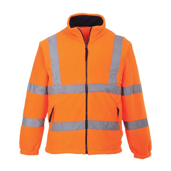 Láthatósági polár pulóver Orange