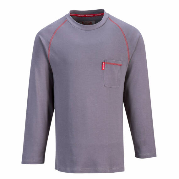 Bizflame FR hosszú ujjú póló Grey