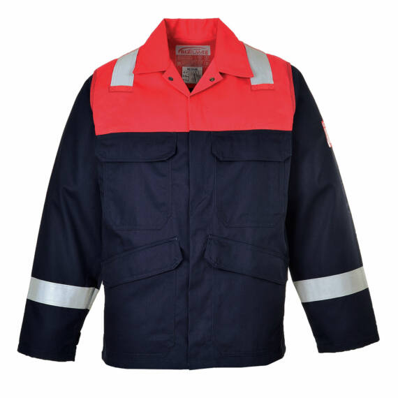 Bizflame Plus kabát Navy