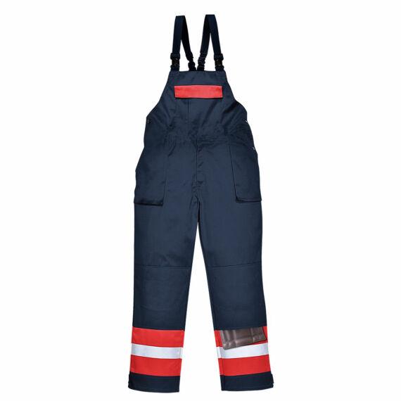 Bizflame Plus kantáros nadrág Navy