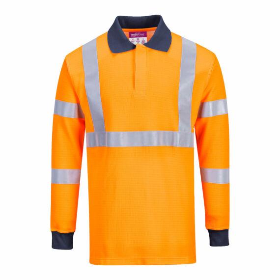 Lángálló RIS pólóing Orange