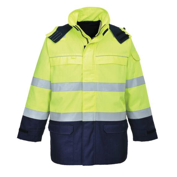 Bizflame Multi Arc láthatósági kabát YeNa