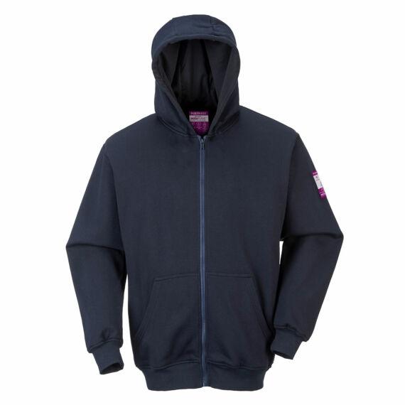 FR kapucnis pulóver Navy