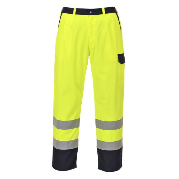 Hi-Vis Bizflame Pro nadrág Yellow
