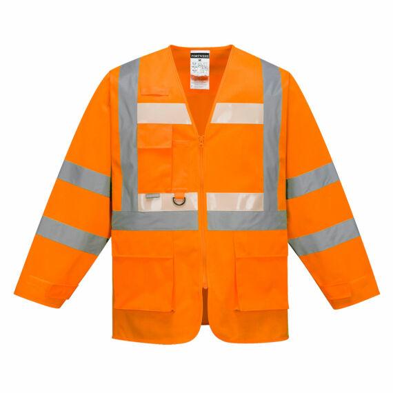 Glowtex vezetői kabát Orange
