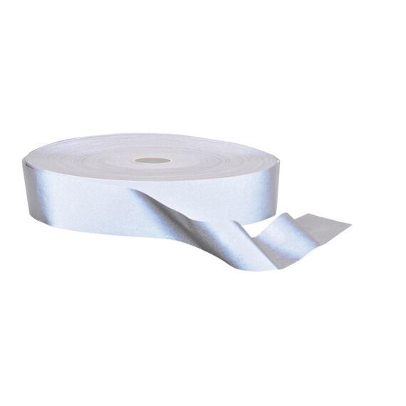 Hi-VisTex fényvisszaverő szalag, 100m Silver