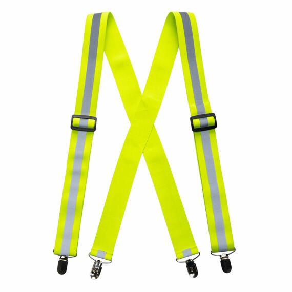 Jól láthatósági nadrágtartó Yellow
