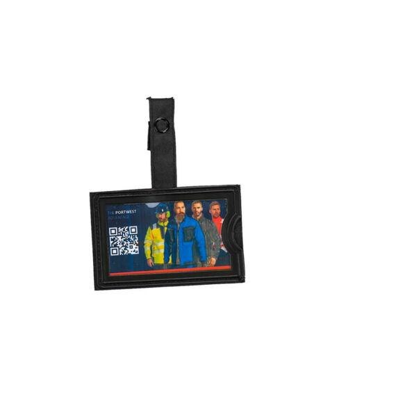 Azonosítókártya tartó (TPU) Black