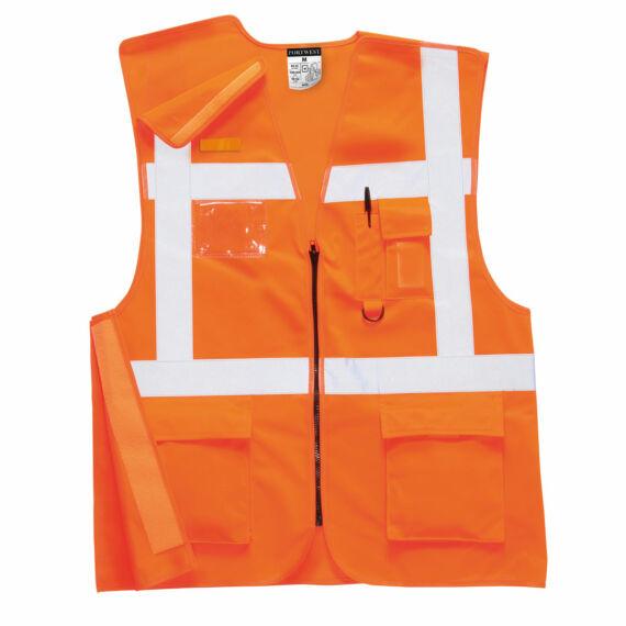 Executive Rail mellény RIS Orange