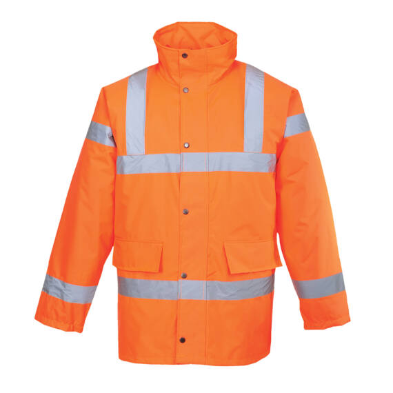 Hi-Vis Traffic kabát Orange
