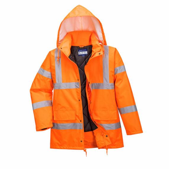 Hi-Vis lélegző kabát RIS Orange