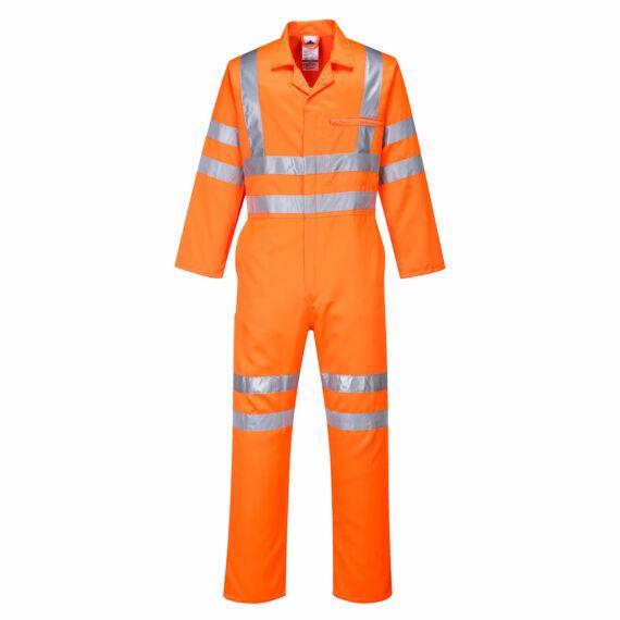 Hi-Vis Poly-cotton overál RIS Orange