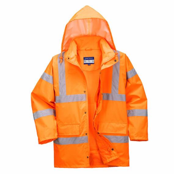 Hi-Vis lélegző kabát Orange