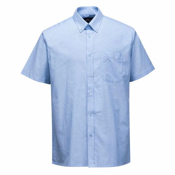 Easycare Oxford ing, rövid ujjú Blue