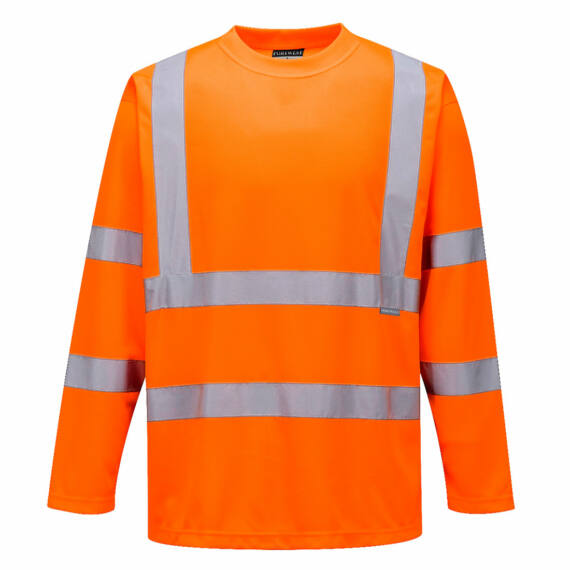 Hi-Vis hosszú ujjú póló Orange