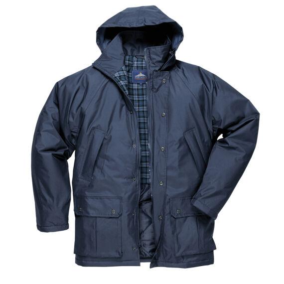 Dundee bélelt kabát Navy