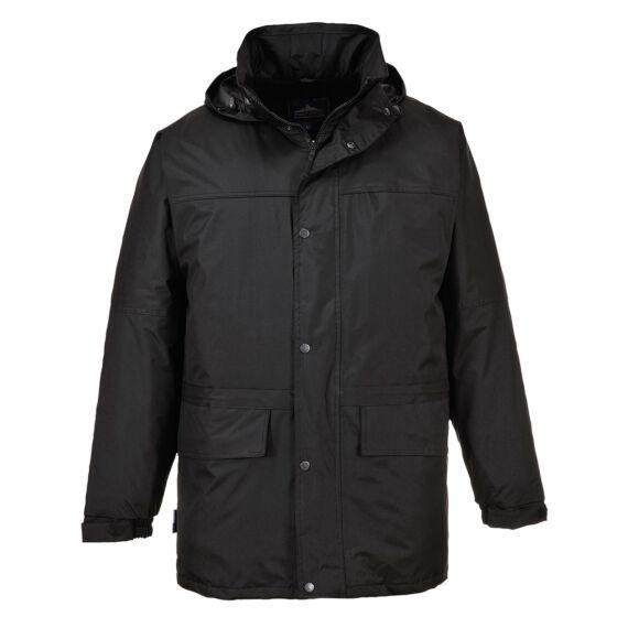 Oban polár bélelt kabát Black