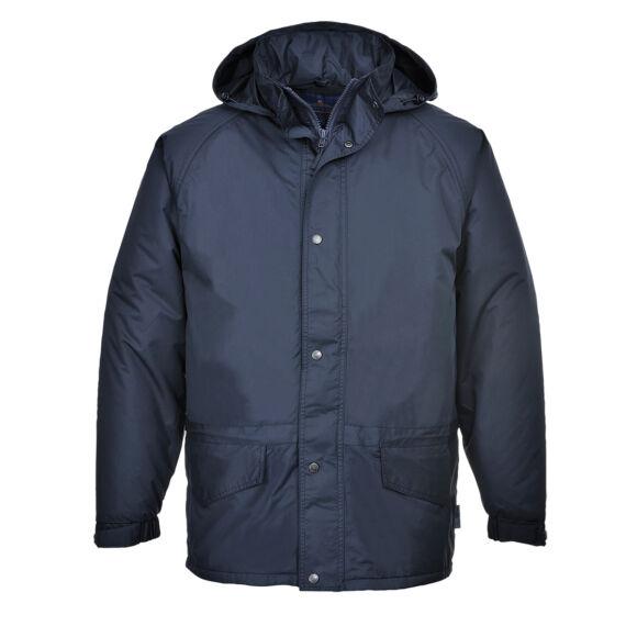 Arbroath lélegző polár béléses kabát Navy