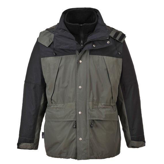 Orkney 3 az 1-ben lélegző kabát Grey