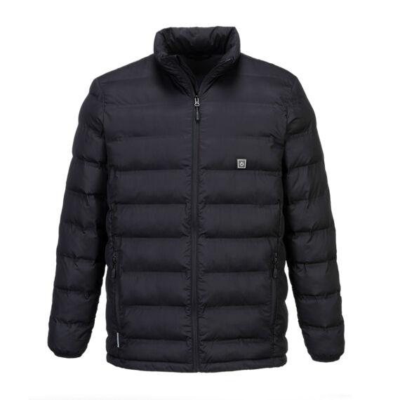 Ultrasonic fűthető dzseki Black
