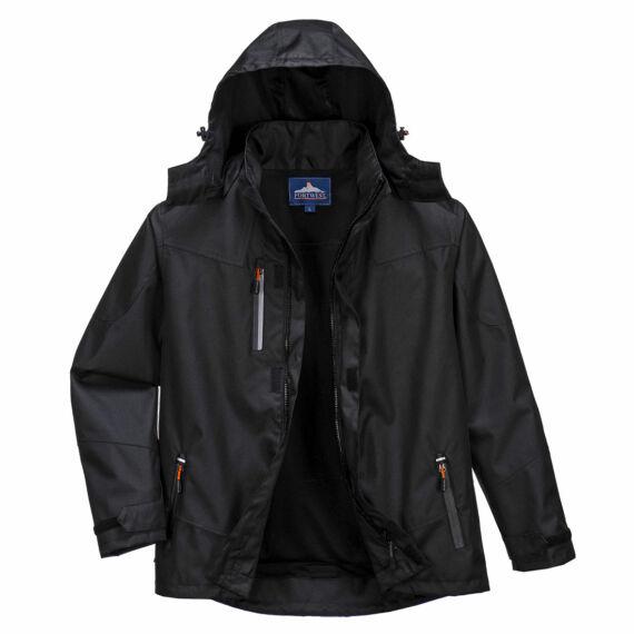 Outcoach kabát Black