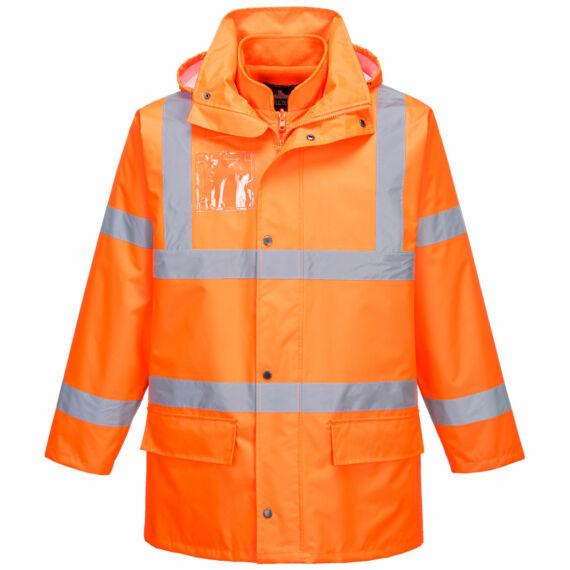 Essential 5 az 1-ben jól láthatósági kabát Orange