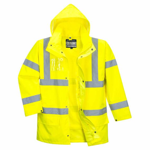 Essential 5 az 1-ben jól láthatósági kabát Yellow