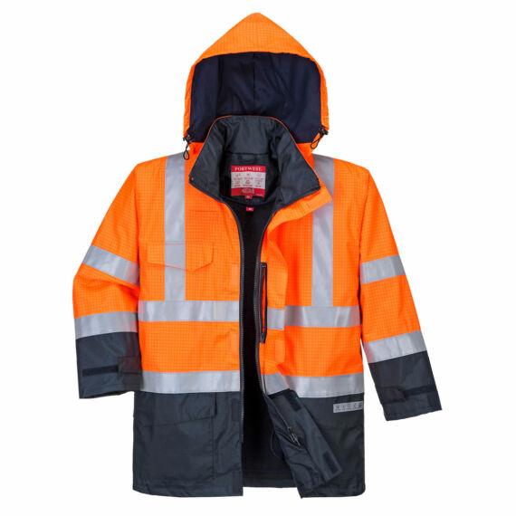 Bizflame Rain Hi-Vis Multi-Protection kabát OrNa