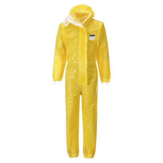 BizTex Microporous overál Type 3/4/5/6 Yellow